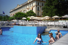 resort town, swimming pool, tourism, leisure, vacation, resort, water park,