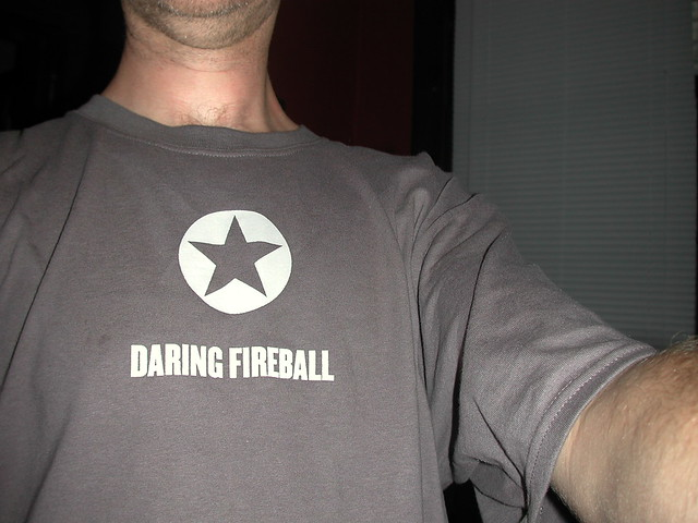 Daring Fireball Shirt