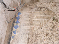 Original Floor Tiles - Copped Hall