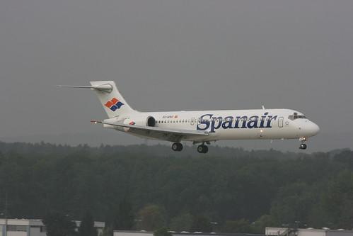 EC-KRO Boeing 717 Spanair