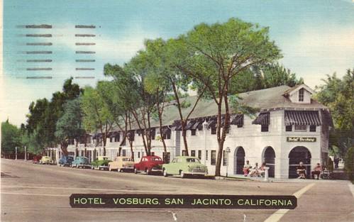 Hotel Vosburg, San Jacinto, California