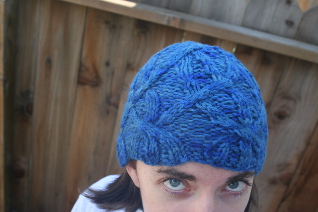 Free Knitting Patterns For Baby Hats With Bulky Yarn : Bulky Yarn Hat Pattern