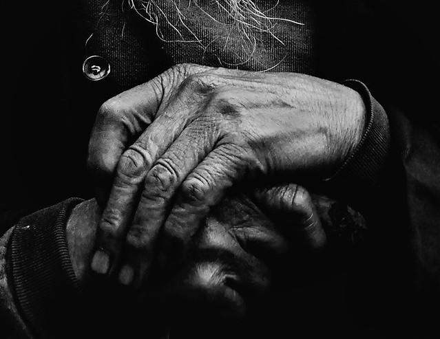 Old Man Hands Flickr Photo Sharing