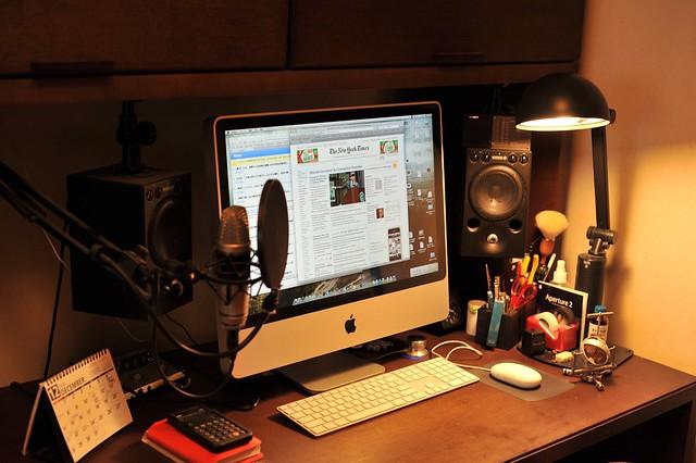 My desktop as of 2008