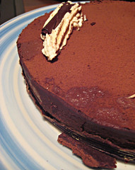cake, buttercream, chocolate cake, torta caprese, baked goods, sachertorte, flourless chocolate cake, food, icing, chocolate brownie, chocolate,