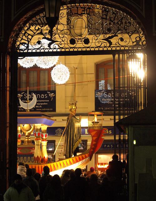 Cabalgata de los Reyes Magos de Zaragoza.