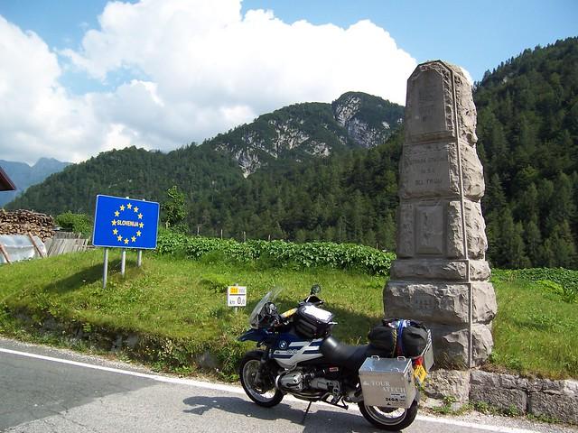 Slovenian border.