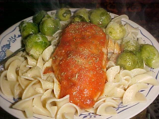Romano Chicken Dinner