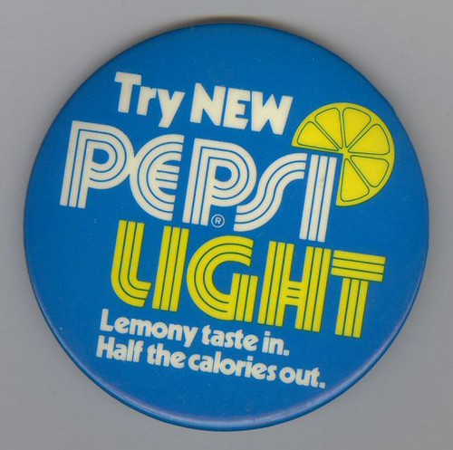Pepsi Light Button by Waffle Whiffer