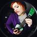 Small photo of Rockin' teh ukulele.