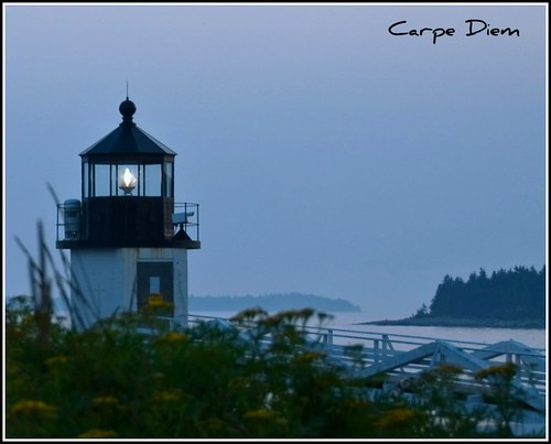 Marshall Point Lighthouse in the Evening