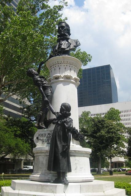 City Of Lafayette >> New Orleans - CBD: Lafayette Square - McDonogh Monument ...