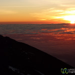Sunrise at the Top of Mt. Kilimanjaro - Tanzania