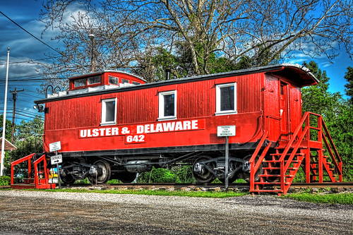 Kingston N.Y - Ulster & Delaware Caboose 03