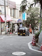Kakisa st. at Tunashima 綱島の柿坂