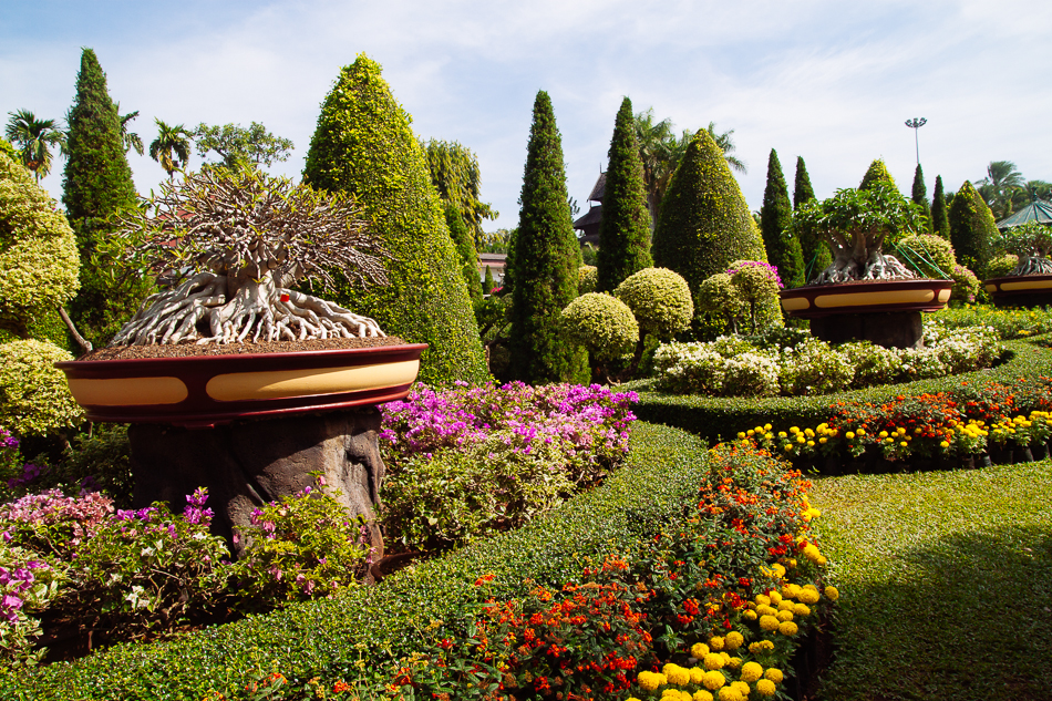 Bonsai Garden, Nong Nooch Tropical Garden, Pattaya
