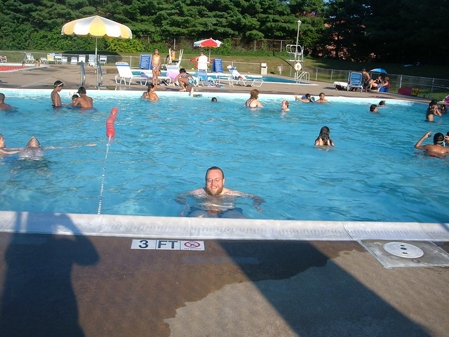 Kevin Swimming At The Upton Hill Pool In Arlington Flickr Photo Sharing