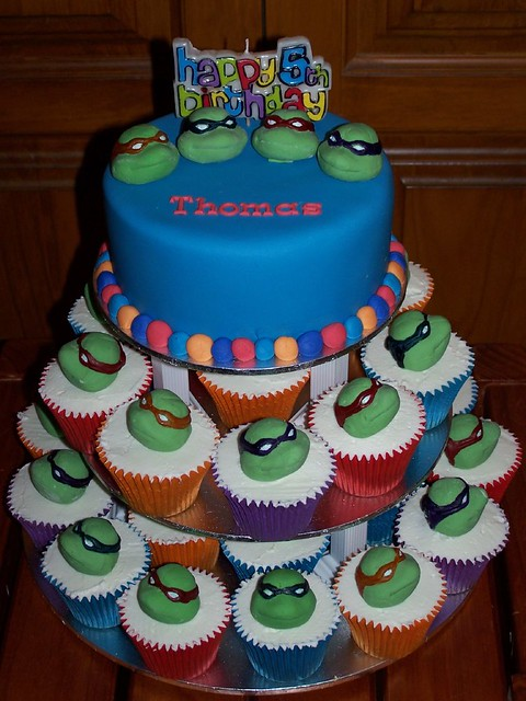 Teenage Mutant Ninja Turtles Cupcake Tower Flickr Sharing