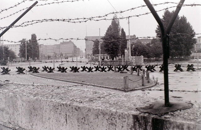 Berlin Wall at Potsdamer Platz, 28 August 1962