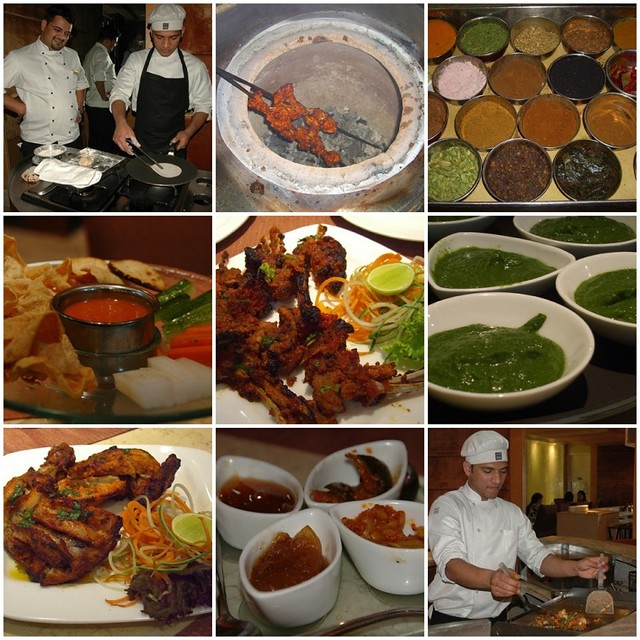 Chandigarh India  City pictures : Indian Food Mosaic – Chandigarh, India
