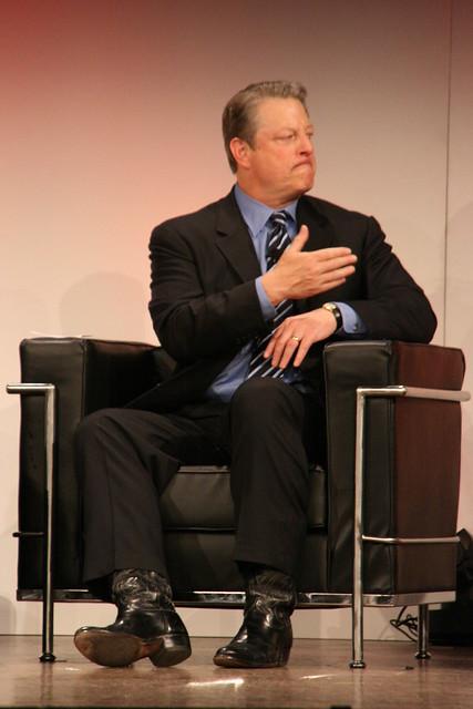 Grumpy Al Gore
