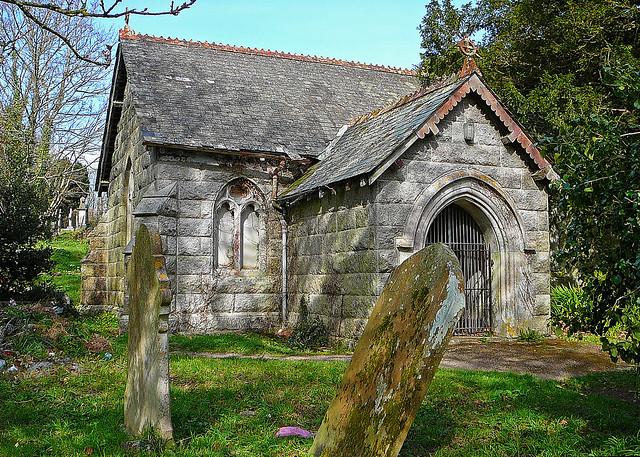 Mortuary Chapel, St Gluvias, Penryn