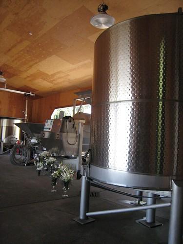 napa, calistoga, august briggs, steel tanks, wine IMG_2659