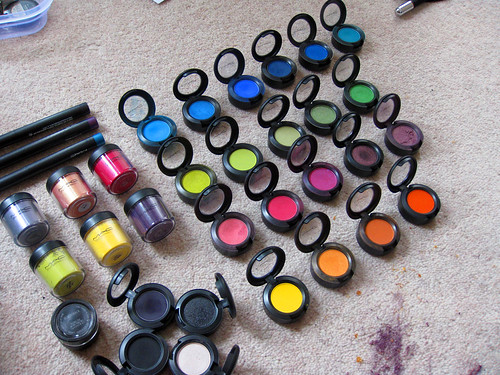 my makeup collection. my mac makeup collection