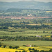 Tewkesbury from Cleeve Hill