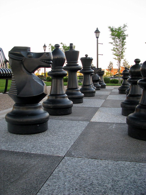 life size chess pieces flickr photo sharing
