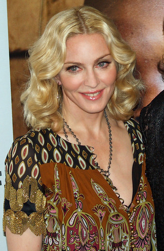 madonna's gap between her teeth