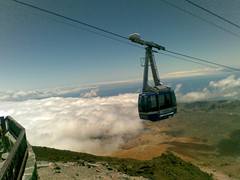 mountain, cable car,