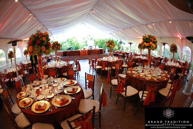Arbor Terrace Wedding Reception Tent at the Grand Tradition Estate near Orange County & Tented Wedding Receptions - a gallery on Flickr