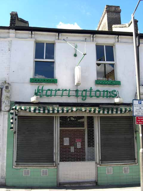 Harringtons eel and pie shop Tooting
