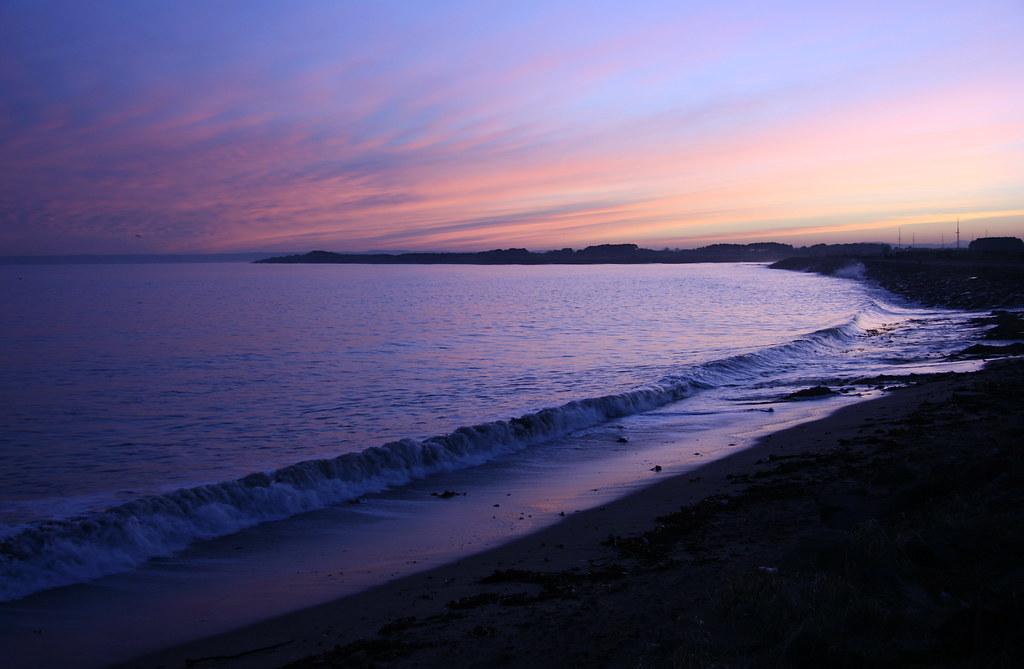 Canoustie Sunset ii 11 i 08