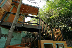 outdoor structure, wood, deck, cottage,