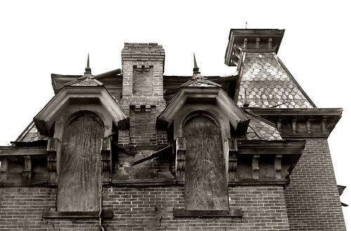 old ohio house brick abandoned farmhouse ruins decay victorian fremont spooky weathered demolished ruraldecay decayed burned fremontohio