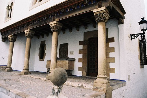 Sitges Museum Courtyard