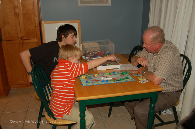 Monopoly Jr with Opa!