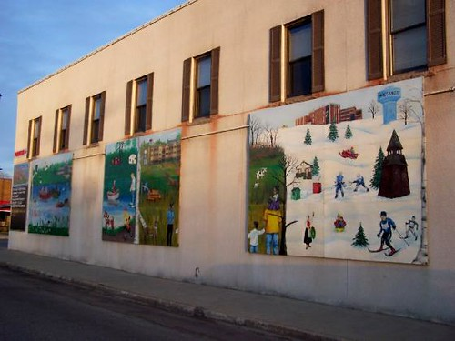 Four seasons murals in mora minnesota there are two for 4 seasons mural