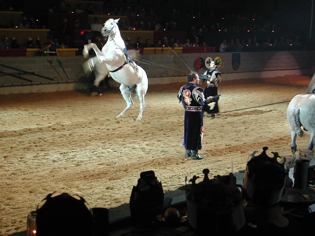 Medieval Times Dallas Food Review