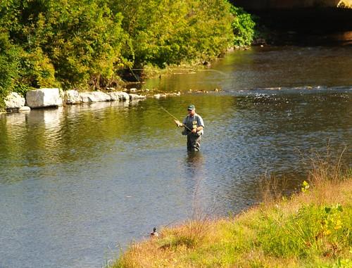 river virginia fly duck fishing south va waynesboro supershot thogarwe