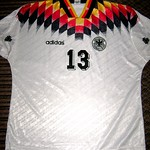 Germany (DFB) Home Shirt for International 93/94 (Front)