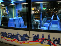 décorations du tramway (LYON,FR69)