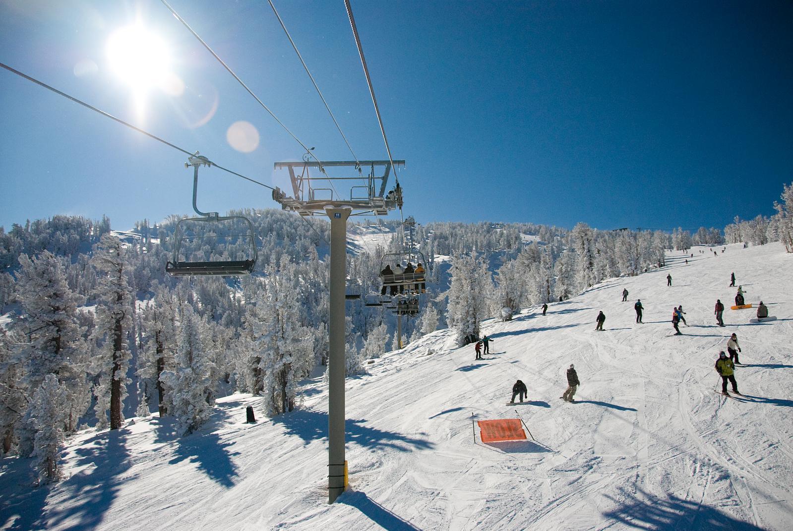 Sunny Day Montbleu Heavenly Ski Resort Lake Tahoe