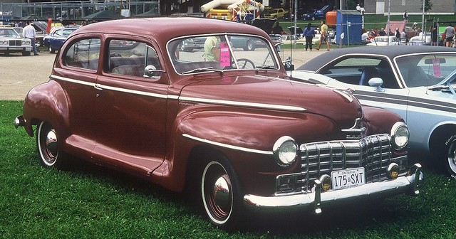 1947 dodge 2 door sedan canadian flickr photo sharing