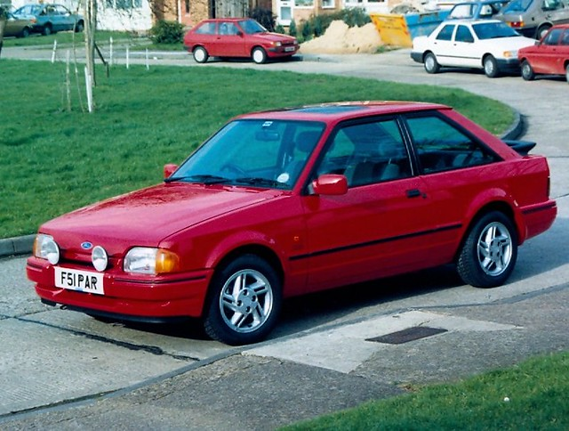 1989 ford escort xr3i flickr photo sharing. Black Bedroom Furniture Sets. Home Design Ideas