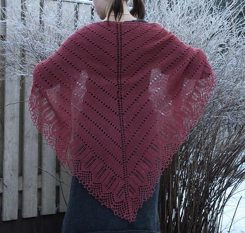 Eliina shawl