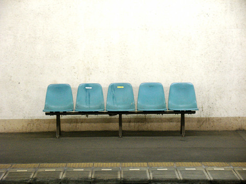five empty seats