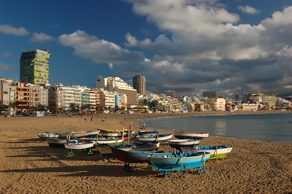 Las Palmas пляж